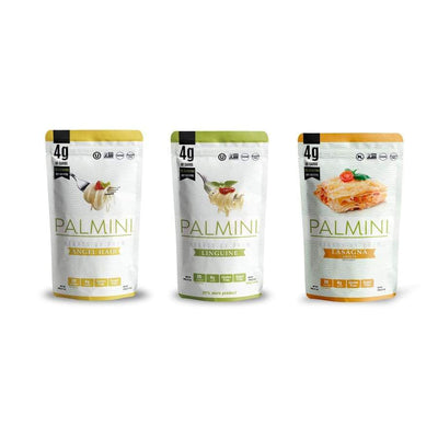 Palmini Low Carb Hearts Of Palm Pasta - Variety Pack