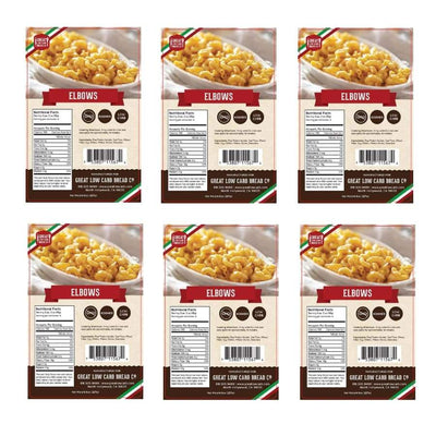 Great Low Carb Pasta Elbows - 6-Pack - Pasta