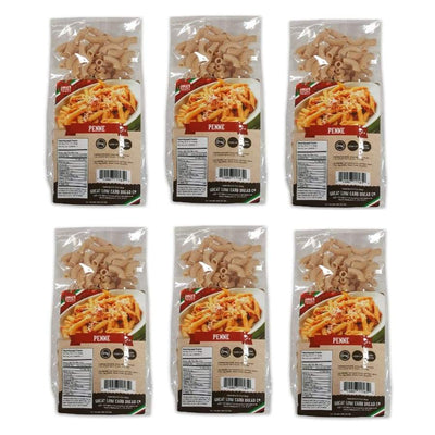 Great Low Carb Pasta Penne - 6-Pack - Pasta