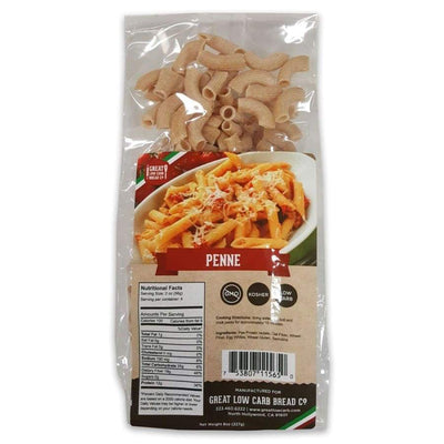 Great Low Carb Pasta Penne - One Pack - Pasta