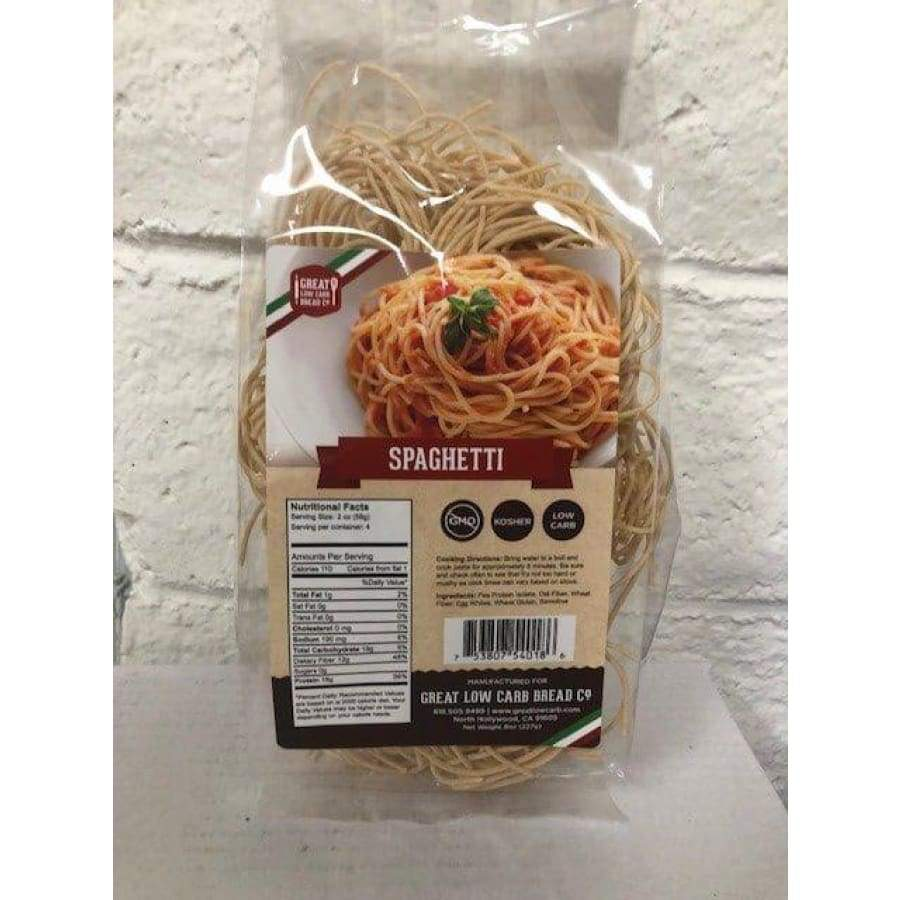 Great Low Carb Pasta Spaghetti - One Pack - Pasta