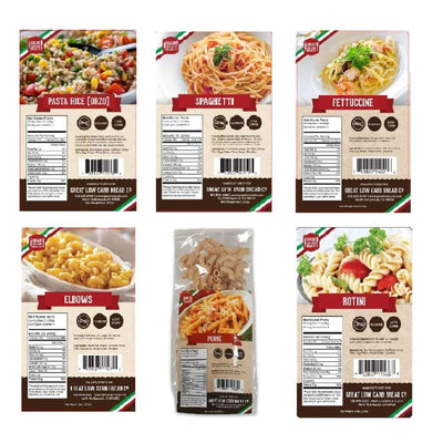 Great Low Carb Pasta Variety Pack - Pasta