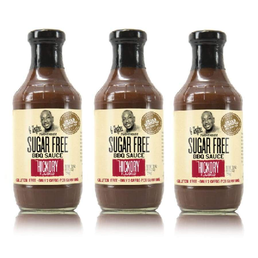 G Hughes' Sugar-Free BBQ Sauce - Hickory - One Pack - BBQ Sauce