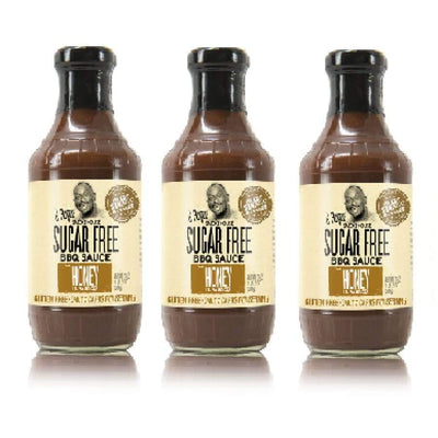 G Hughes' Sugar-Free BBQ Sauce - Honey - 3-Pack - BBQ Sauce