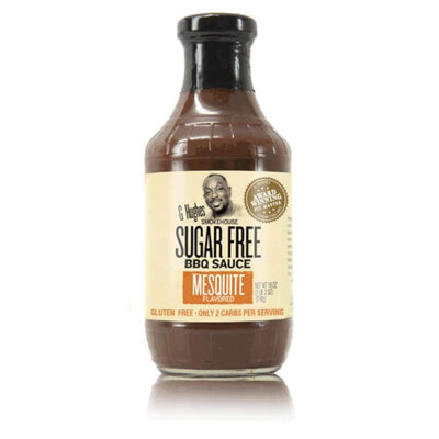 G Hughes' Sugar-Free BBQ Sauce - Mesquite - One Pack - BBQ Sauce