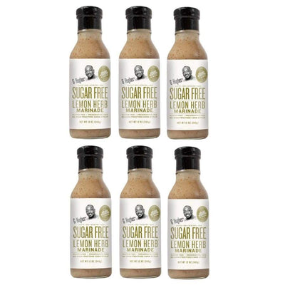 G Hughes' Sugar-Free Marinade - Lemon Herb - 6-Pack - Condiments