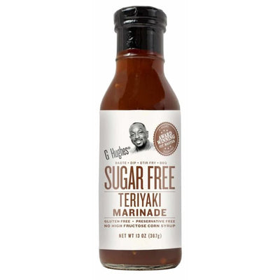 G Hughes' Sugar-Free Marinade - Teriyaki - One Pack - Condiments