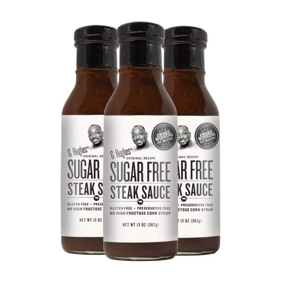 G Hughes' Sugar-Free Steak Sauce - One Pack - Condiments