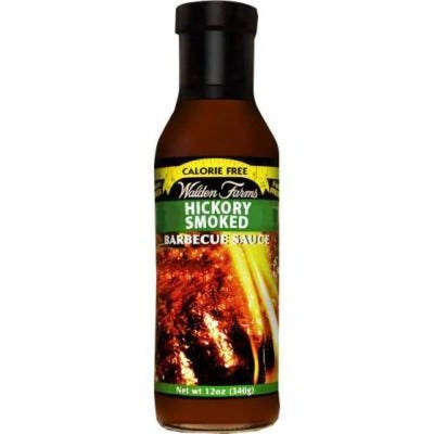 Walden Farms Calorie Free BBQ Sauces - Available in 4 Flavors! - Hickory Smoked / One Pack - BBQ Sauce