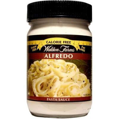Walden Farms Calorie Free Pasta Sauces - Available in 3 Flavors! - Alfredo - Pasta Sauce