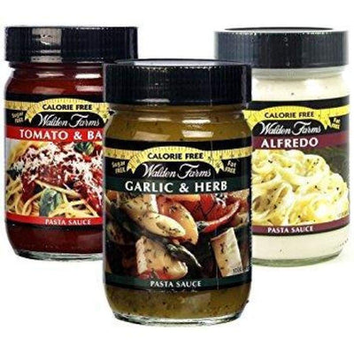 Walden Farms Calorie Free Pasta Sauces - Available in 3 Flavors! - Variety Pack - Pasta Sauce