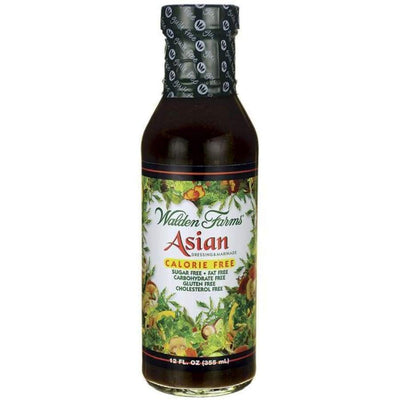 Walden Farms Calorie Free Salad Dressing - Available in 23 Flavors! - Asian - Salad Dressing
