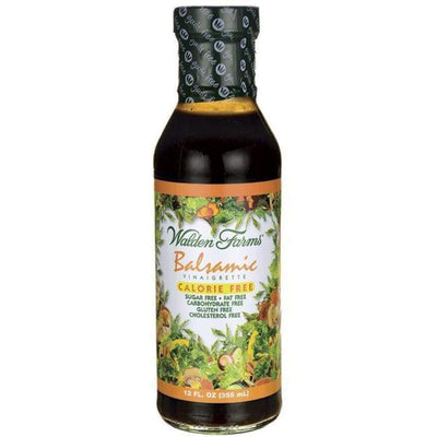 Walden Farms Calorie Free Salad Dressing - Available in 23 Flavors! - Balsamic Vinaigrette - Salad Dressing