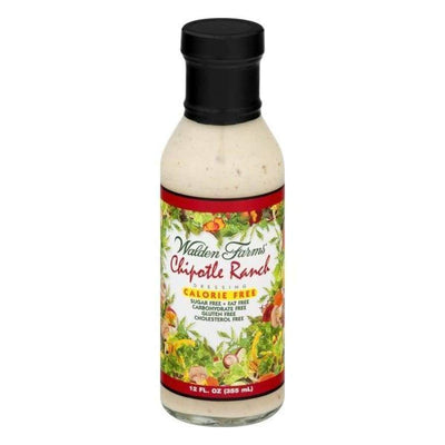 Walden Farms Calorie Free Salad Dressing - Available in 23 Flavors! - Chipotle Ranch - Salad Dressing