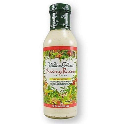 Walden Farms Calorie Free Salad Dressing - Available in 23 Flavors! - Creamy Bacon - Salad Dressing