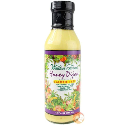 Walden Farms Calorie Free Salad Dressing - Available in 23 Flavors! - Honey Dijon - Salad Dressing