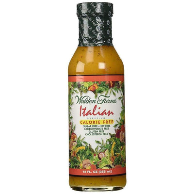 Walden Farms Calorie Free Salad Dressing - Available in 23 Flavors! - Italian - Salad Dressing