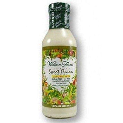 Walden Farms Calorie Free Salad Dressing - Available in 23 Flavors! - Jersey Sweet Onion - Salad Dressing