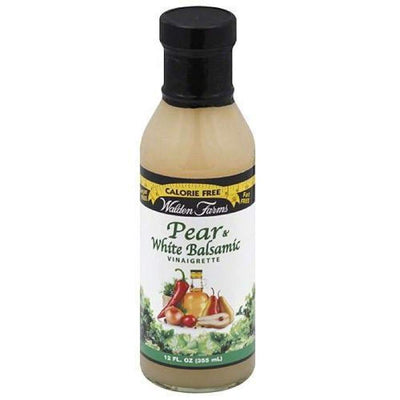 Walden Farms Calorie Free Salad Dressing - Available in 23 Flavors! - Pear & White Balsamic Vinaigrette - Salad Dressing