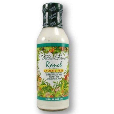 Walden Farms Calorie Free Salad Dressing - Available in 23 Flavors! - Ranch - Salad Dressing