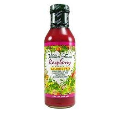 Walden Farms Calorie Free Salad Dressing - Available in 23 Flavors! - Raspberry Vinaigrette - Salad Dressing
