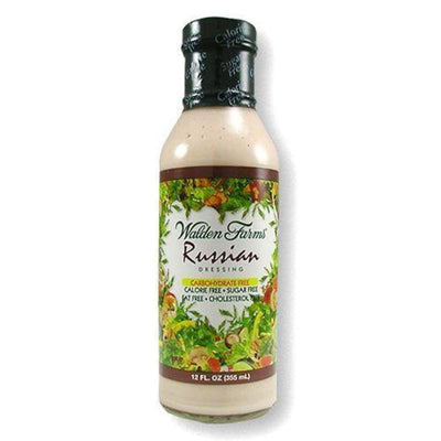 Walden Farms Calorie Free Salad Dressing - Available in 23 Flavors! - Russian - Salad Dressing
