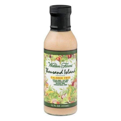Walden Farms Calorie Free Salad Dressing - Available in 23 Flavors! - Thousand Island - Salad Dressing