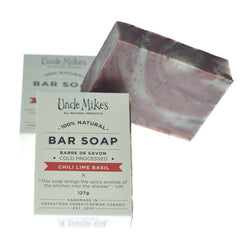 Chili Lime Basil Soap