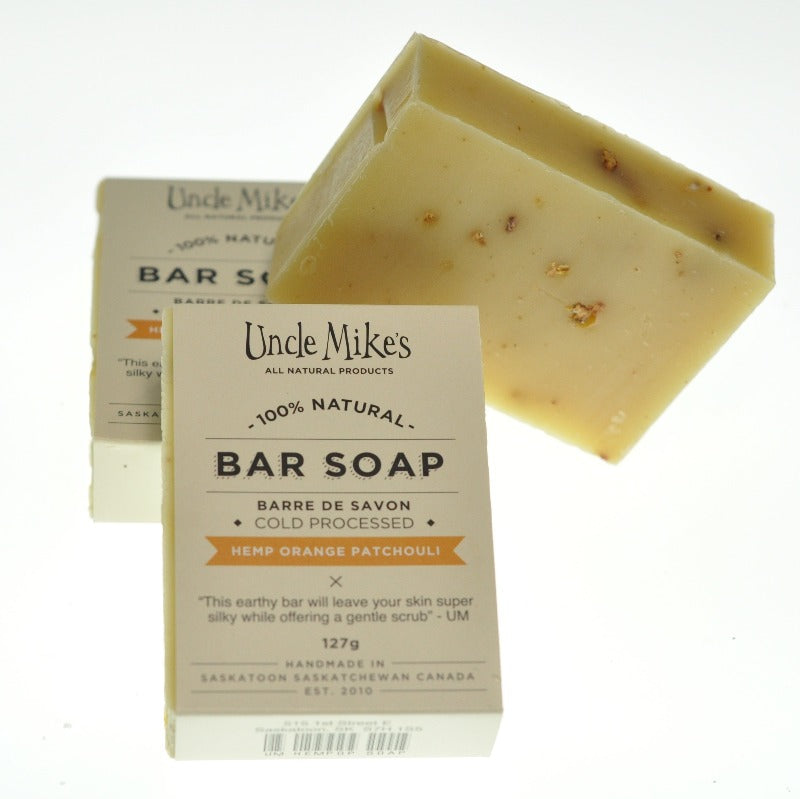 Hemp Orange Patchouli Soap Bar