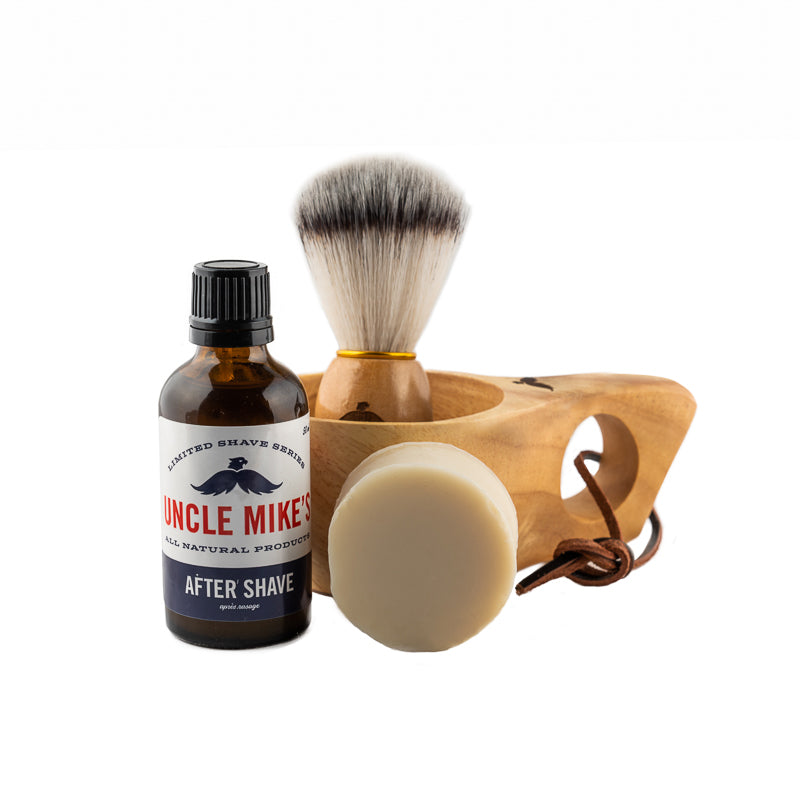 Shave Kit w/Safety Razor and Blades