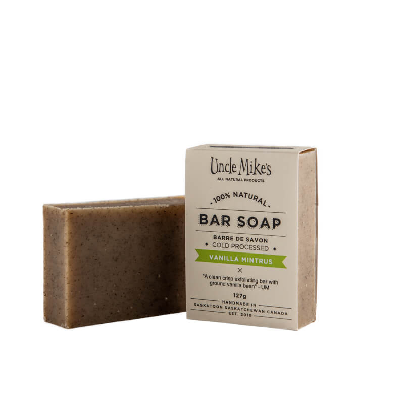 Vanilla Mintrus Bar Soap
