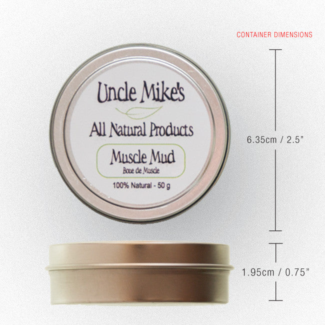 Uncle Mike's Muscle Mud Container Weight & Dimensions