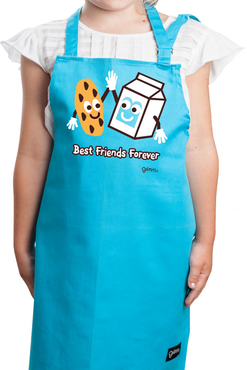 Best Friends Forever Kids Apron