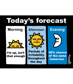 Today's Forecast (Graphics) Magnet