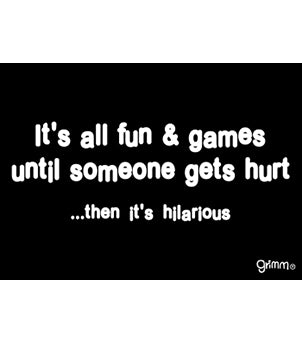 It's All Fun & Games Magnet
