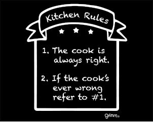 Kitchen Rules Magnet