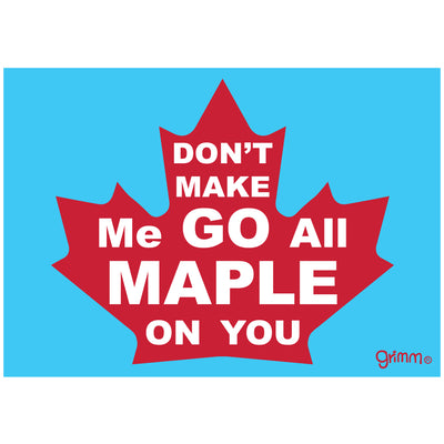 Maple Magnet