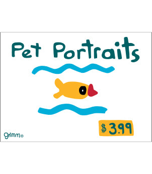 Pet Portraits Magnet