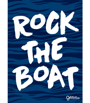 Rock the Boat Magnet