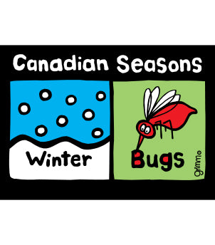 Canadian Seasons Magnet