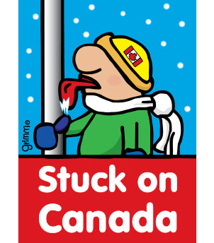 Stuck on Canada Magnet