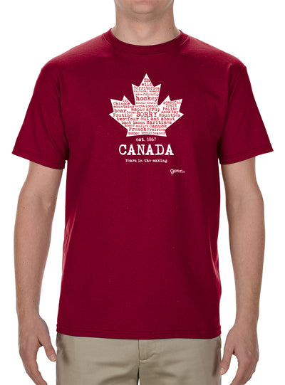 Canada Leaf (Red) T-Shirt