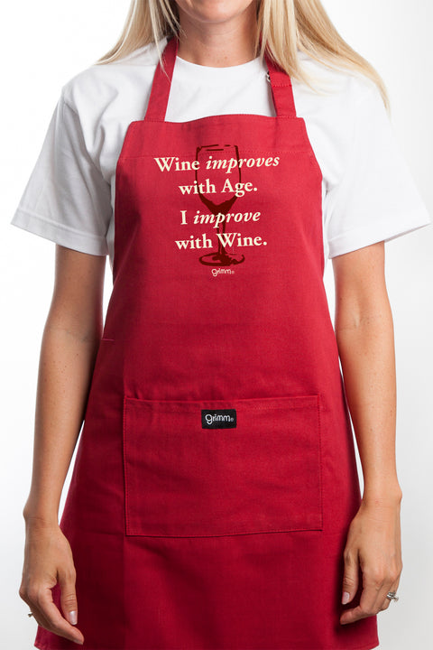 Improves Apron