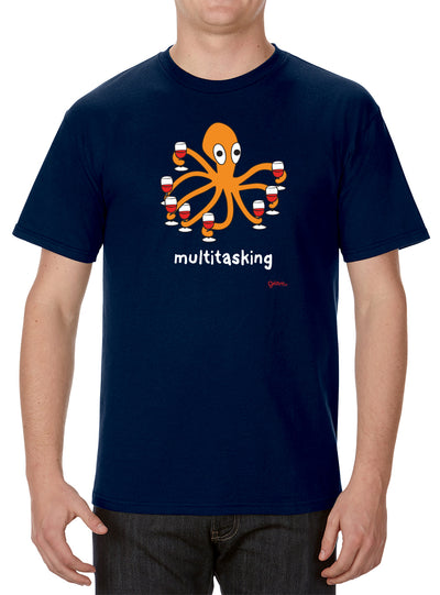 Multitasking Octopus T-Shirt