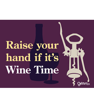 Wine Time Magnet