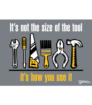 Size of the Tool T-Shirt