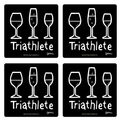 TRIWINE-COASTER SET