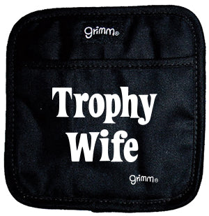 Trophy Wife (Black) Pot Holder