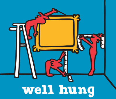 "Well Hung. Signed Limited Edition AP Giclee 30"" x 26"""