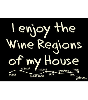 Wine Regions Magnet